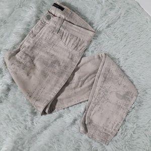 J brand super skinny midrise coat noise jeans